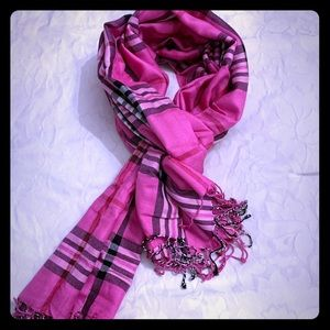 Pink Bijoux Terner Pashmina